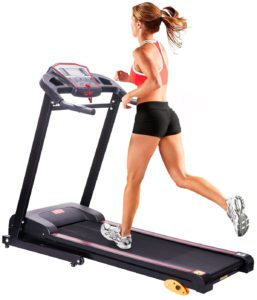 Image of compact treadmill