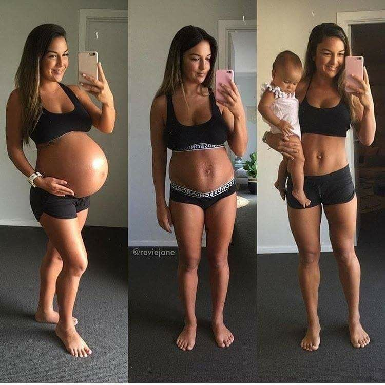 love handles after pregnancy