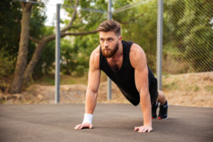 are push ups good for abs