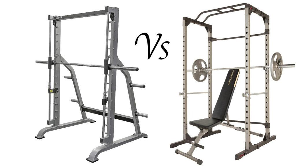 Smith Machine Vs Power Rack Pros Cons Amp Comparison